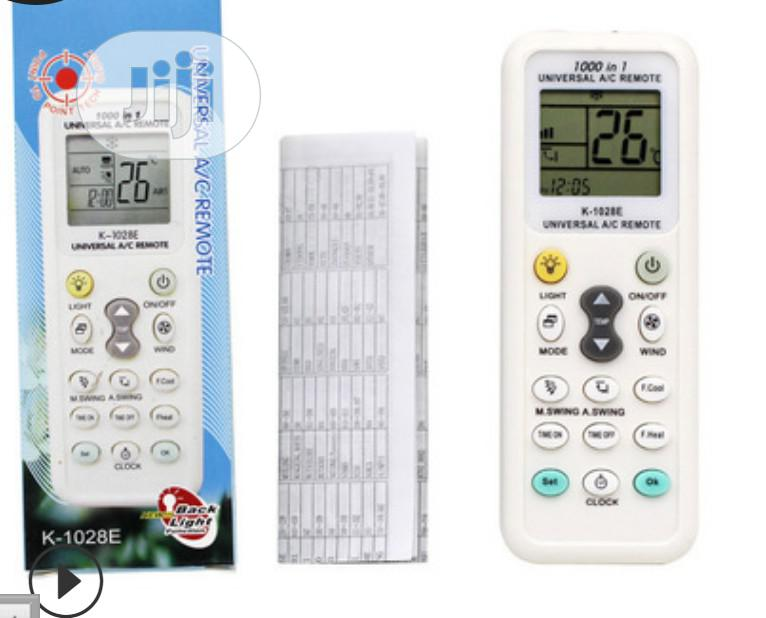 Universal Replacement AC Remote Control
