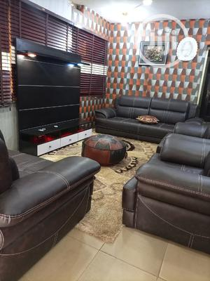 Set of Sitting Room Chairs With Exclusive TV Stand Design | Furniture for sale in Lagos State, Magodo