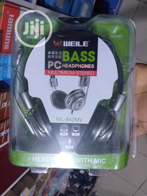 Bass Pc Headphones | Headphones for sale in Abuja (FCT) State, Wuse