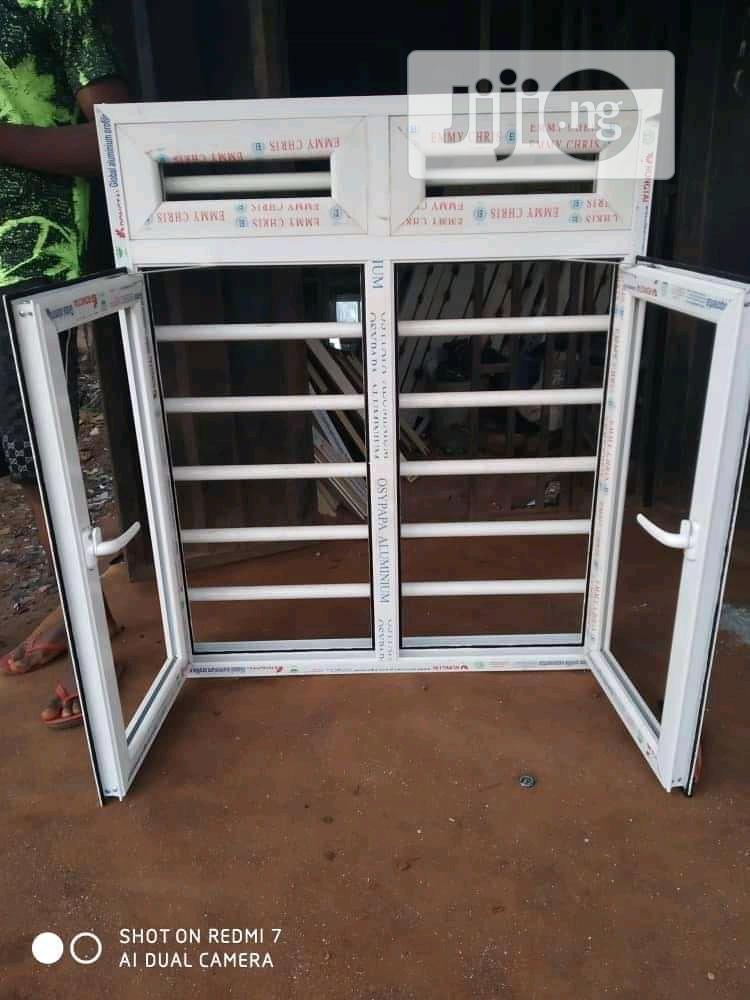 Casement Window With Burglary Proof