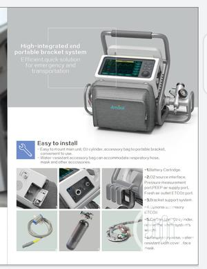 T5 Emergency and Transport Ventilator   Medical Supplies & Equipment for sale in Lagos State, Amuwo-Odofin