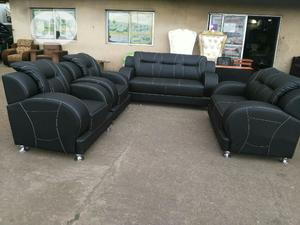 7 Seater Leather Sofa   Furniture for sale in Lagos State, Ajah