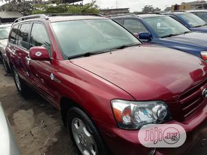Toyota Highlander 2007 Red | Cars for sale in Lagos State, Apapa