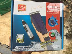 Rechargeable Hair Clipper And Nose Trimmer | Tools & Accessories for sale in Lagos State, Alimosho