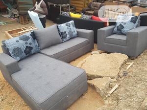 Modern Design L Shape With Single | Furniture for sale in Lagos State, Egbe Idimu
