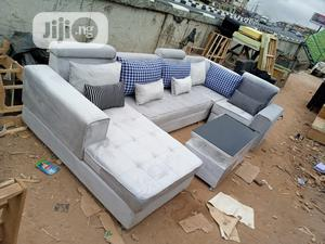 Set Of U-shape Sofa Chairs And Table. Couch, Furniture | Furniture for sale in Lagos State, Ikorodu