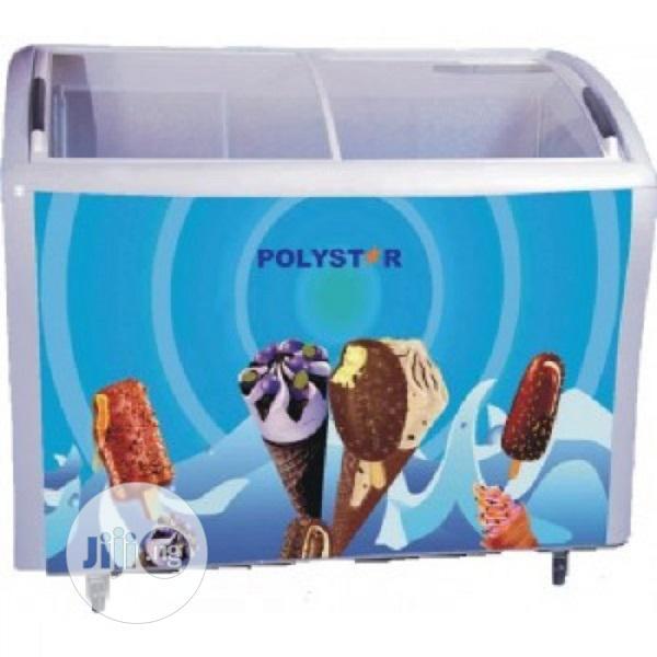 Polystar Showcase Freezer With Glass Lid (PV-CSC428L)