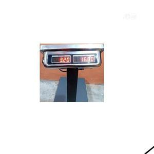 Camry Electronic Digital Platform Scale 300kg Double Display | Store Equipment for sale in Lagos State, Alimosho
