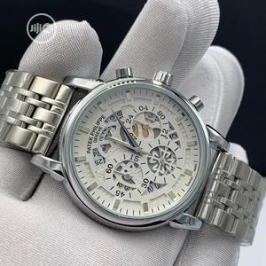 Patek Philippe Chronograph Silver Chain Watch | Watches for sale in Lagos State, Lagos Island (Eko)