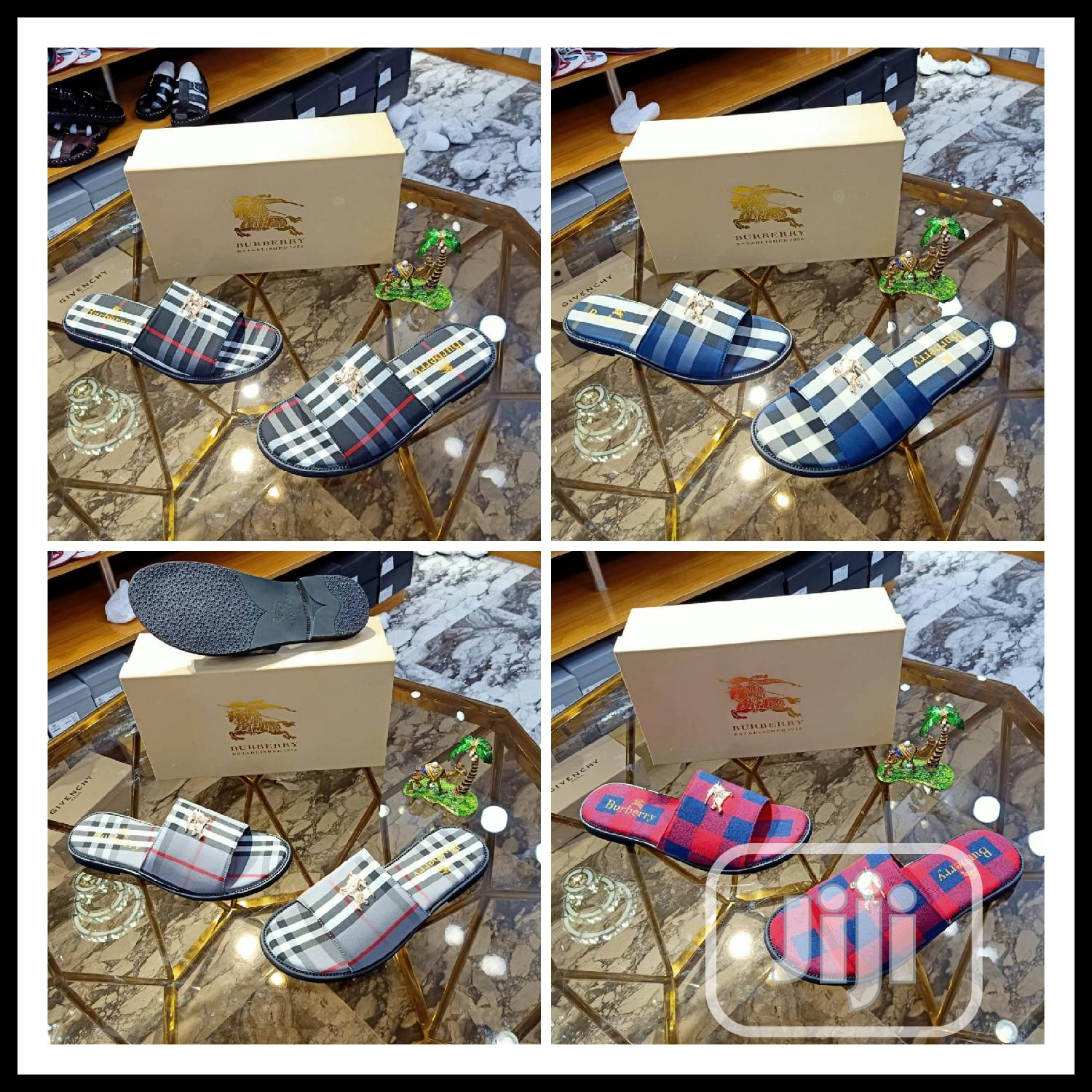 Archive: New Male Quality Designers Palms Slippers