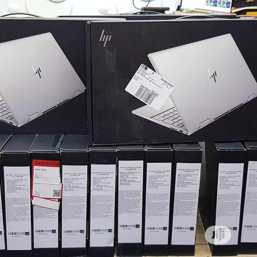 New Laptop HP Envy X360 15t 8GB Intel Core I5 SSD 256GB   Laptops & Computers for sale in Ikeja, Lagos State, Nigeria