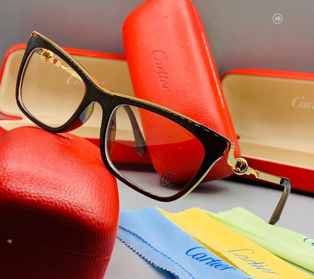 Original Cartier Sunglasses Brown