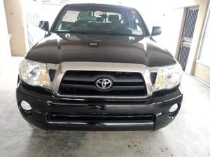 Toyota Tacoma 2008 4x4 Double Cab Black | Cars for sale in Lagos State, Surulere