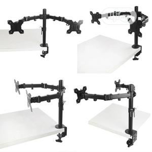 Adjustable Computer TV Dual Monitor Holder Desk Mount Stand | Computer Monitors for sale in Lagos State, Surulere