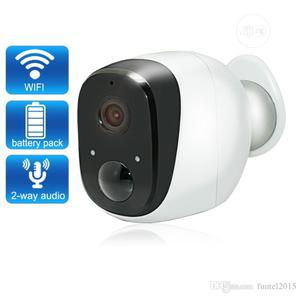 Battery Powered Wifi Wireles IP Camera With Month Battery   Security & Surveillance for sale in Lagos State, Ikeja