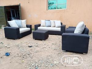 Set of 7 Seaters Sofa Chairs With Ottoman. Fabric Couches | Furniture for sale in Lagos State, Agboyi/Ketu