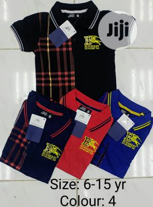 A Quality Burberry Polo Shirts | Children's Clothing for sale in Abuja (FCT) State, Jabi
