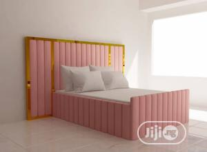 Unique Upholstery 6by6ft Bedframe | Furniture for sale in Lagos State, Ikeja