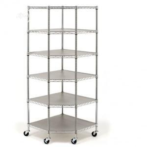 Seville Classic Heavy Duty Steel 6- Tier Corner Shelf   Store Equipment for sale in Lagos State, Ikeja