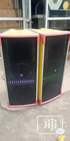 High Class Long Speaker No 1   Audio & Music Equipment for sale in Lagos State, Ikeja