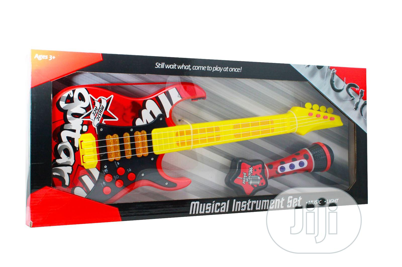 Guitar With Microphone