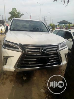 Lexus LX 2017 570 Base White | Cars for sale in Rivers State, Port-Harcourt
