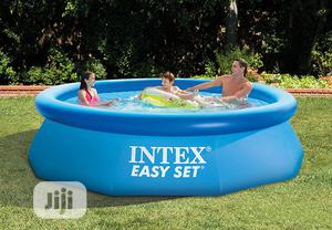 Intex Easy Set Swimming Pool With Filter Pump   Sports Equipment for sale in Lagos State, Ikorodu