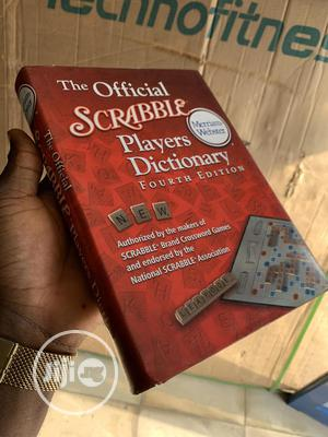 Official Scrabble Dictionary (4th Edition) | Books & Games for sale in Lagos State, Agboyi/Ketu