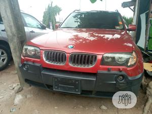 BMW X3 2005 3.0i Red   Cars for sale in Lagos State, Amuwo-Odofin