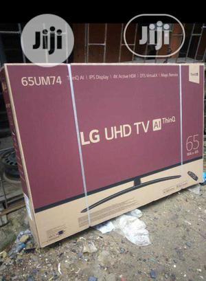 LG Smart Satellite 65-Inch UHD 4K TV Magic Remote (65UM74) | TV & DVD Equipment for sale in Lagos State, Ojo