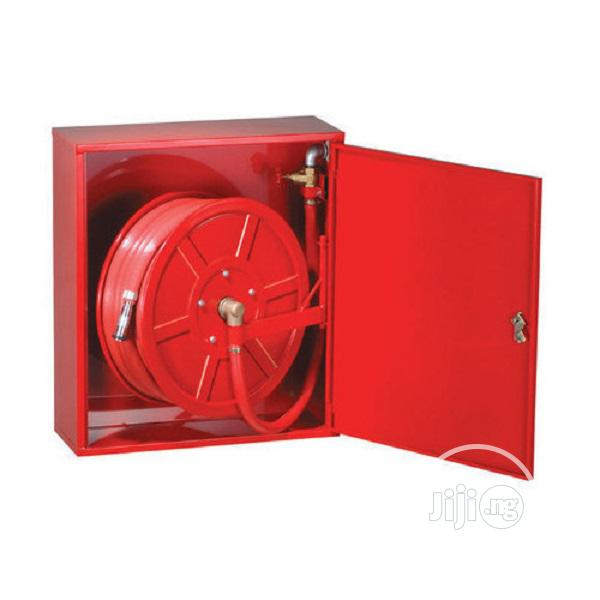 """1"""" X 30M Cabinet Mounted With Fire Hose Reel"""