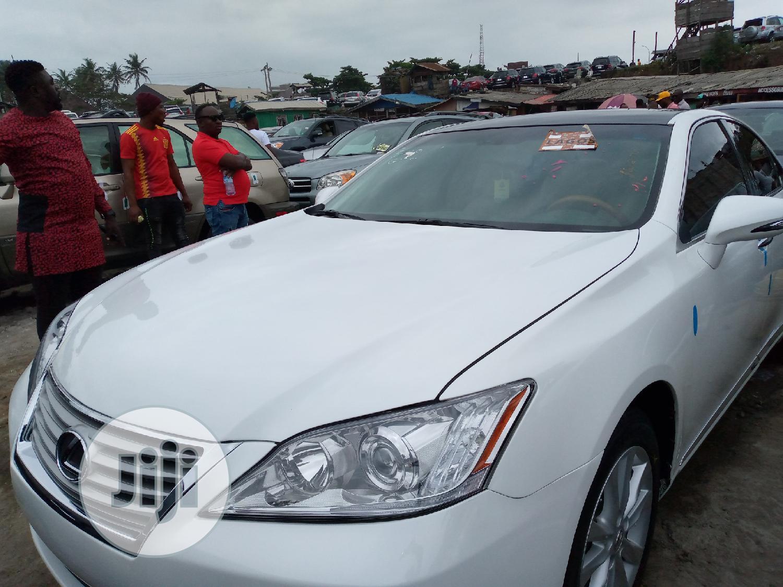 Archive: Lexus ES 2011 350 White