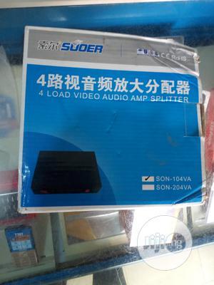 4 Port AV Splitter. | Accessories & Supplies for Electronics for sale in Abuja (FCT) State, Mararaba