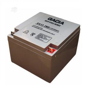 26ah-12v Deep Cycle Battery -GACIA 07-09   Solar Energy for sale in Lagos State, Alimosho
