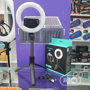 Bluetooth Selfie Stick Tripod With 5 Inch LED Ring Light   Accessories for Mobile Phones & Tablets for sale in Lagos State, Ikeja