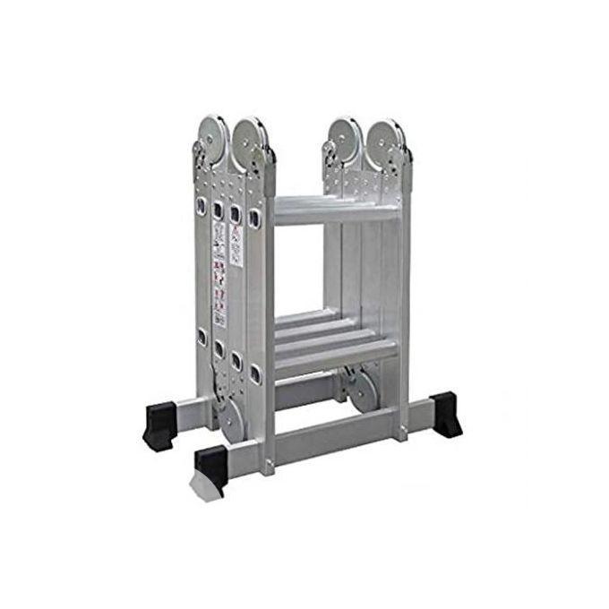 Multipurpose Aluminium Ladder With Twin Stabilizers