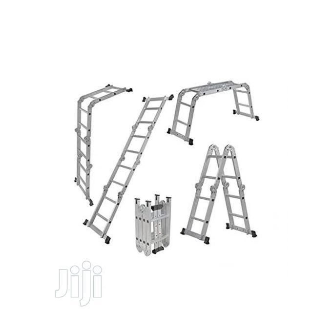 Multipurpose Aluminium Ladder With Twin Stabilizers | Hand Tools for sale in Lagos Island (Eko), Lagos State, Nigeria