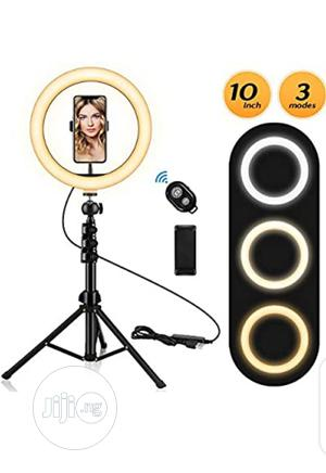Adjustable Ring Light With Stand And Phone Holder | Accessories for Mobile Phones & Tablets for sale in Lagos State, Lagos Island (Eko)