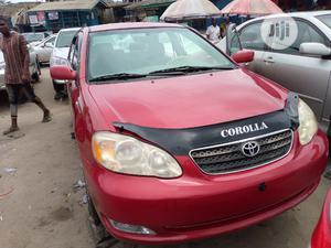 Toyota Corolla 2005 LE Red | Cars for sale in Lagos State, Apapa