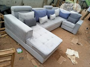 U-Shape Sofa Chairs - Quality Fabric Couches Furniture | Furniture for sale in Lagos State, Ojota