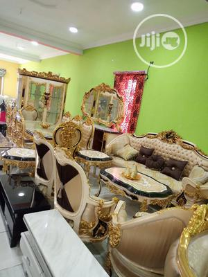 Imported High Quality Royal Sofa With Dining Sets | Furniture for sale in Lagos State, Ikoyi