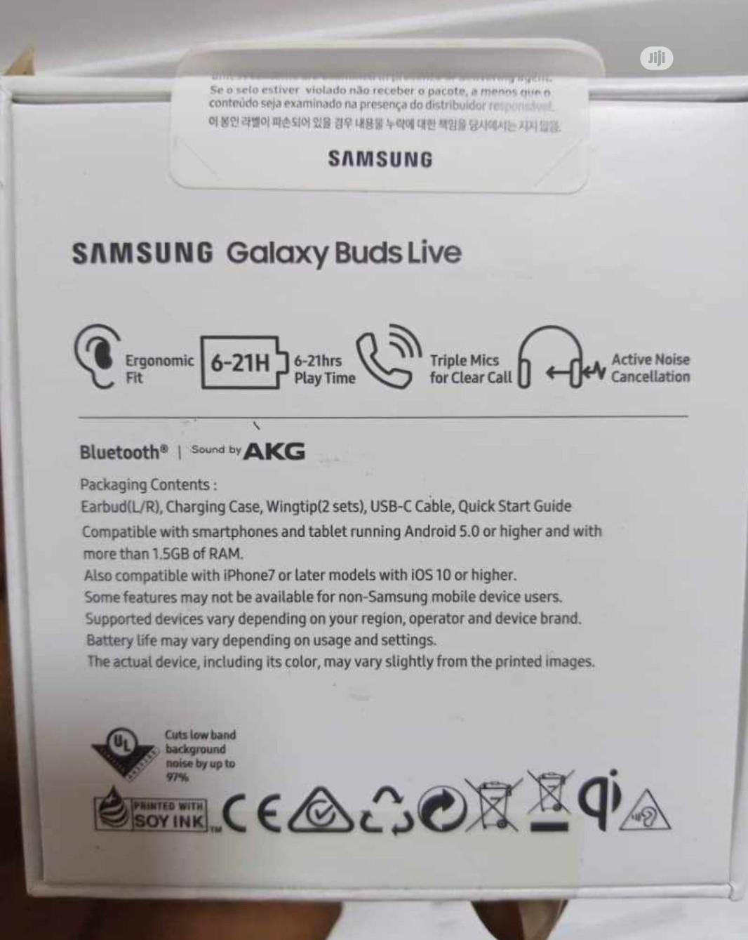 Samsung Galaxy Buds Live | Headphones for sale in Ikeja, Lagos State, Nigeria