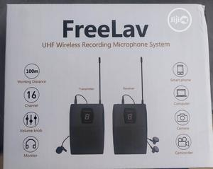 Original Wireless Mic For Clean Clear Audio Recording   Audio & Music Equipment for sale in Lagos State, Ojo