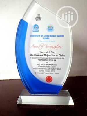 Crystal Award   Arts & Crafts for sale in Lagos State, Shomolu