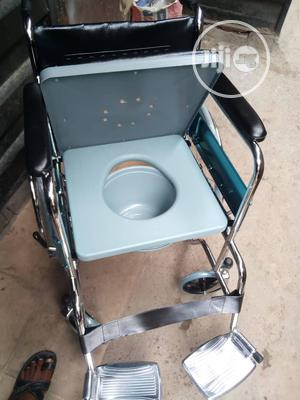 Commode Wheelchair | Medical Supplies & Equipment for sale in Lagos State, Surulere