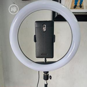Ringlight With Phone Bracket And Stand 12.5inch | Accessories & Supplies for Electronics for sale in Rivers State, Port-Harcourt