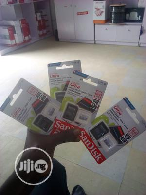 Original San Disk Memory Card 64GB   Accessories for Mobile Phones & Tablets for sale in Lagos State, Ojo