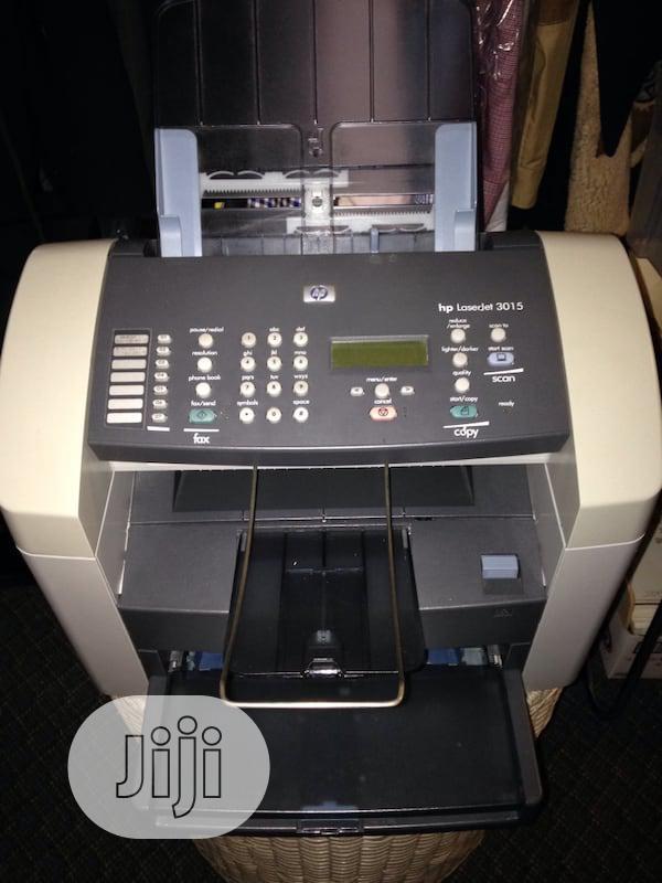 HP Laserjet 3015 Black And White Printer   Printers & Scanners for sale in Ikeja, Lagos State, Nigeria