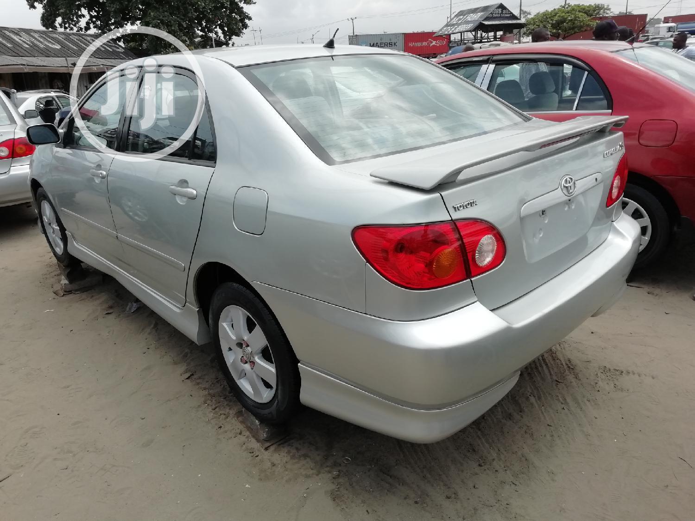 Toyota Corolla 2003 Sedan Automatic Silver | Cars for sale in Apapa, Lagos State, Nigeria