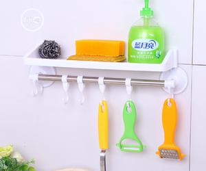 Bathroom And Kitchen Hanger With Shelf | Home Accessories for sale in Lagos State, Lagos Island (Eko)